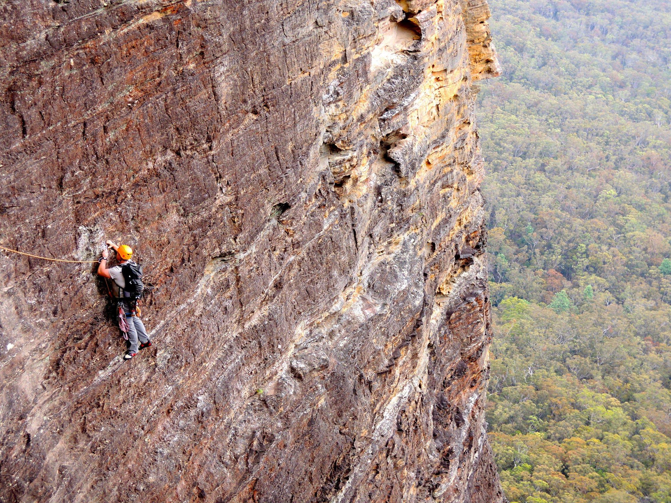 blue mountain rock climbing boars head