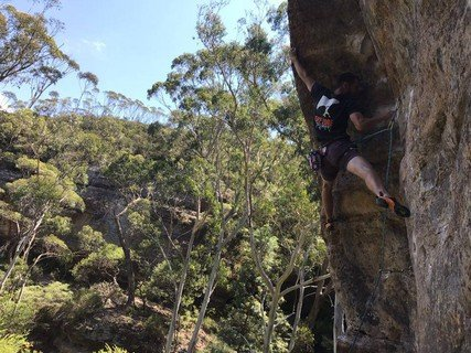 blue mountain rock climbing centennial glen